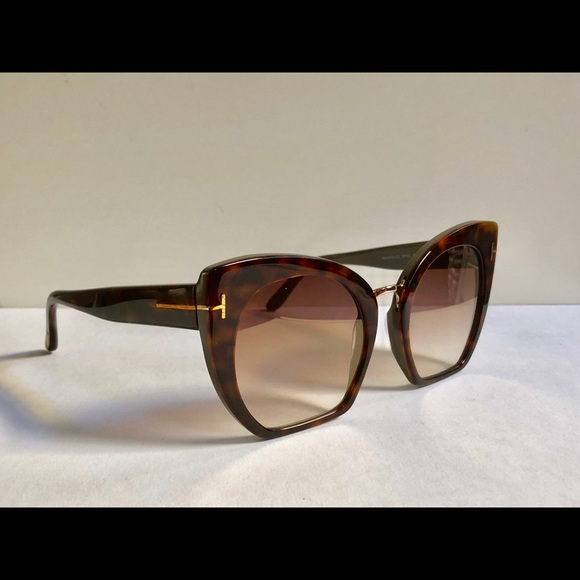 74e714fa6627d Tom Ford Samantha Sunglasses in Havana Brown